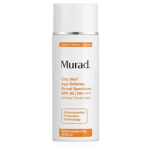 Murad City Skin Age Defense broad spectrum spf 50 pa ++++