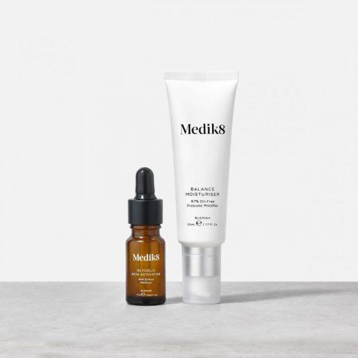 Medik8 Balance Moisturiser and Glycolic Activator