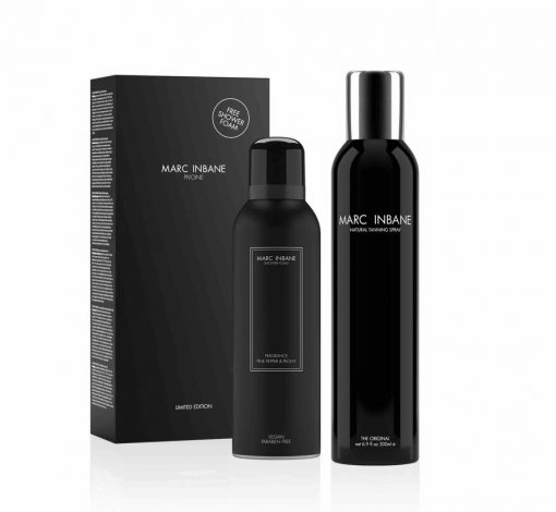 Marc Inbane Tanning Spray + gratis vegan foam twv 14,95 1