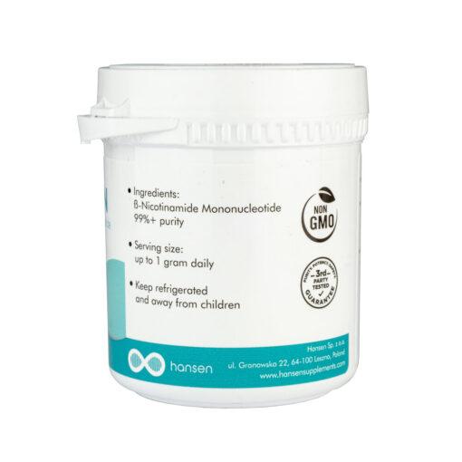 NMN poeder supplement 30 gram (Hansen) 3